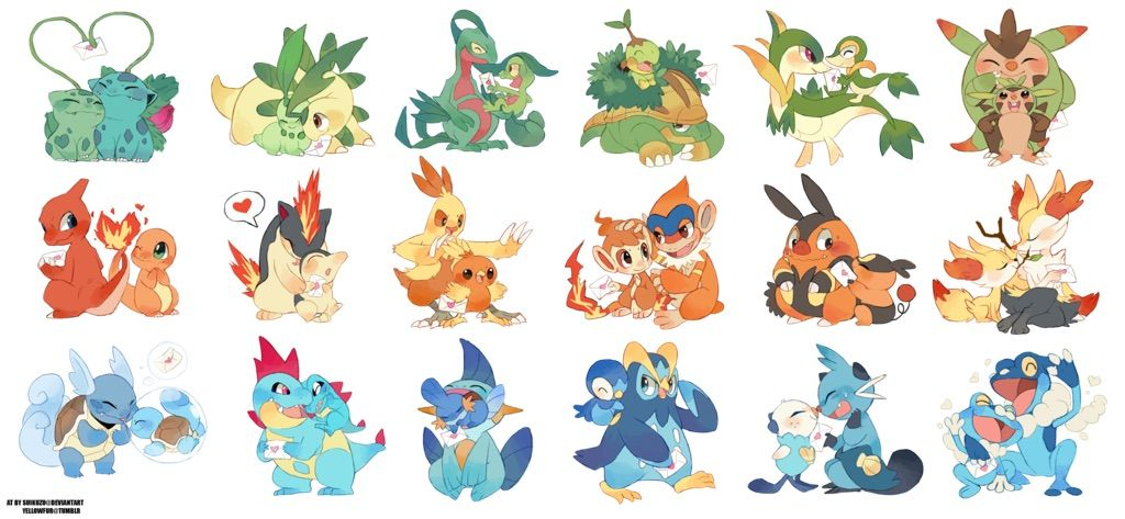 Here's 7 Starter Generation Pokemon, Which Is The Best