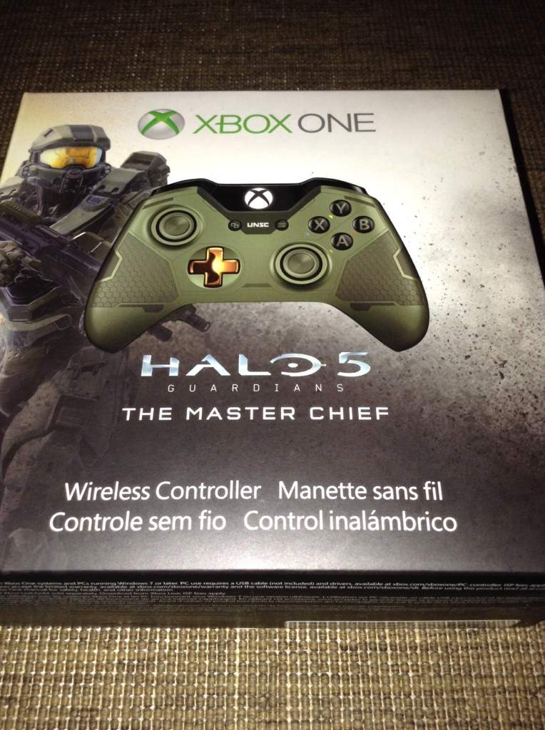 Xbox One Linited Edition Halo 5 Master Chief Controller