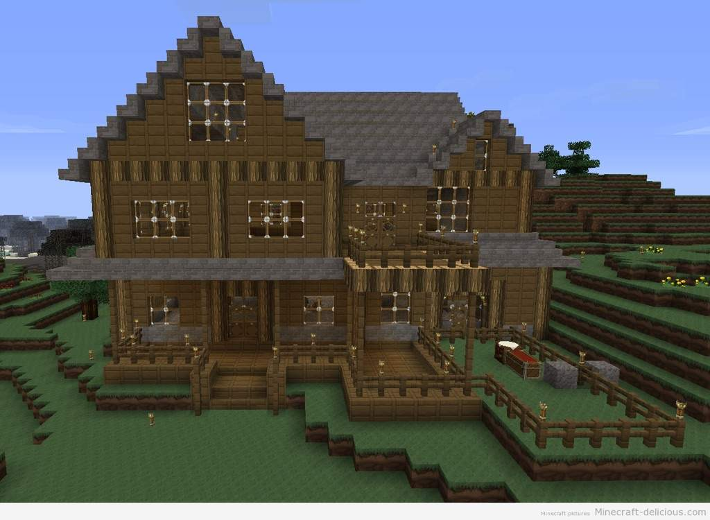 Cool Minecraft Houses | Video Games Amino