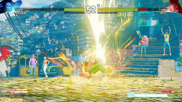 NEW STREET FIGHTER 5 CHARACTER LAURA LEAKE   Video Games Amino