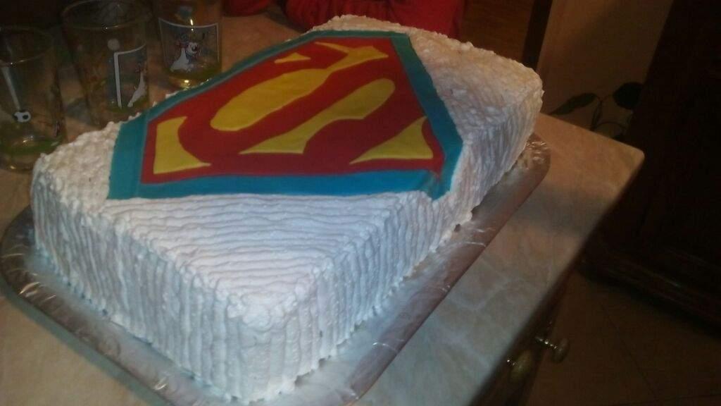 My Superman Birthday Cake Comics Amino
