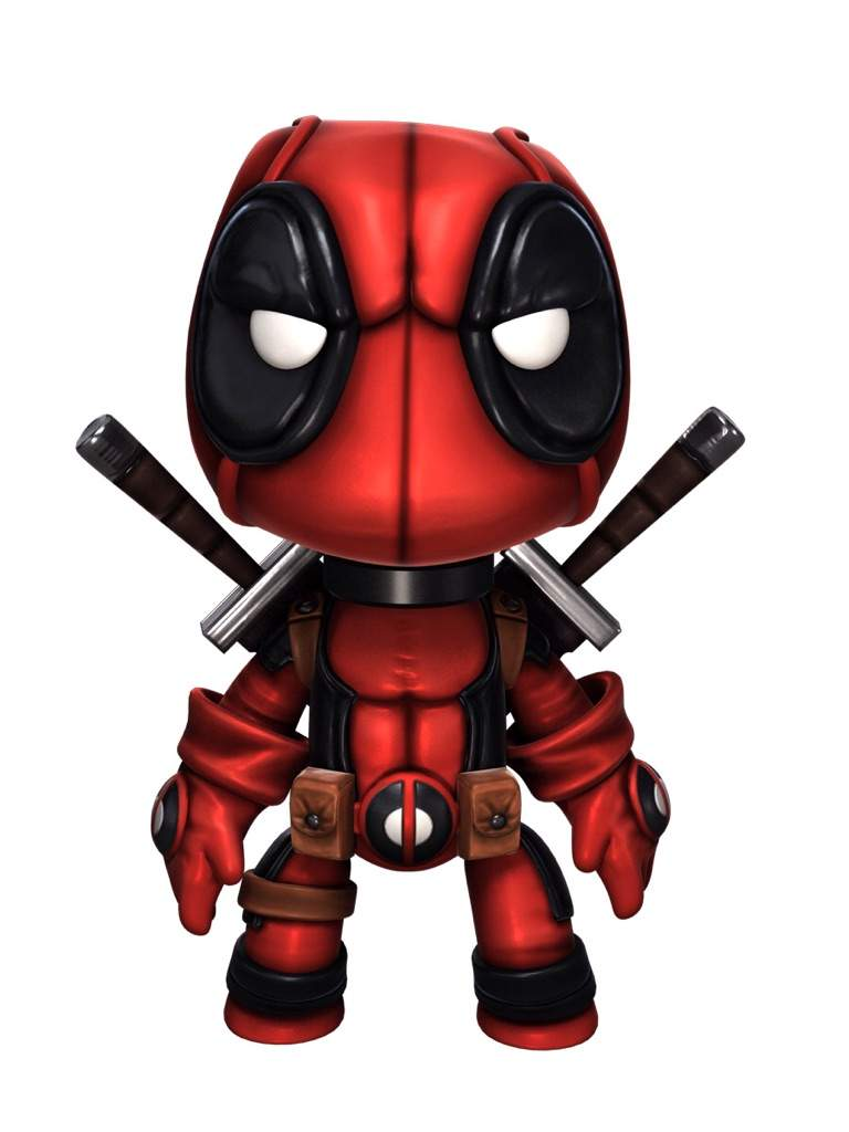 My Mini Deadpool Is Complete! I Am Posting This Earlier In The Morning  Because I Am Going Somewhere For The Day. Anyways Guys, Here It Is!