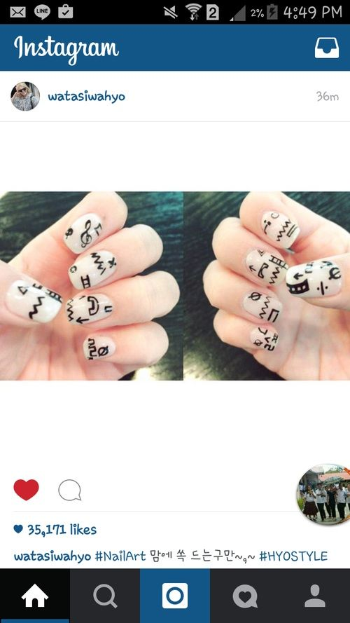 Hyo nail art k pop amino i know that its not really about kpop but when we are inspired by the queen of nail art hyo i couldnt help myself to post that solutioingenieria Image collections