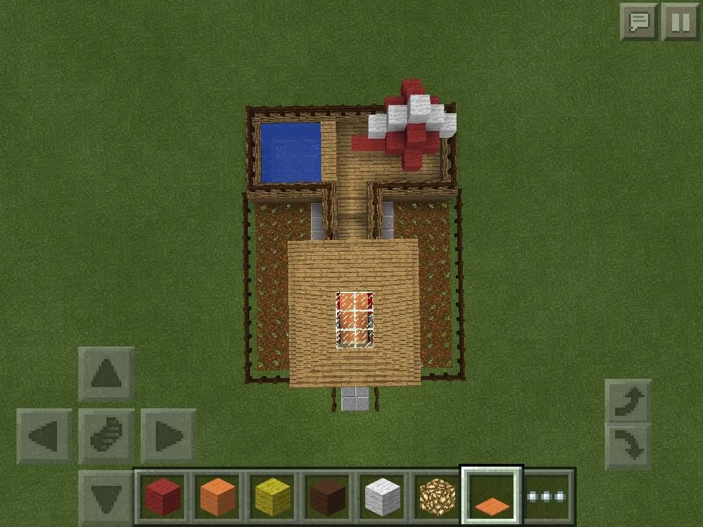 Pixel Art Vacation House Minecraft Amino