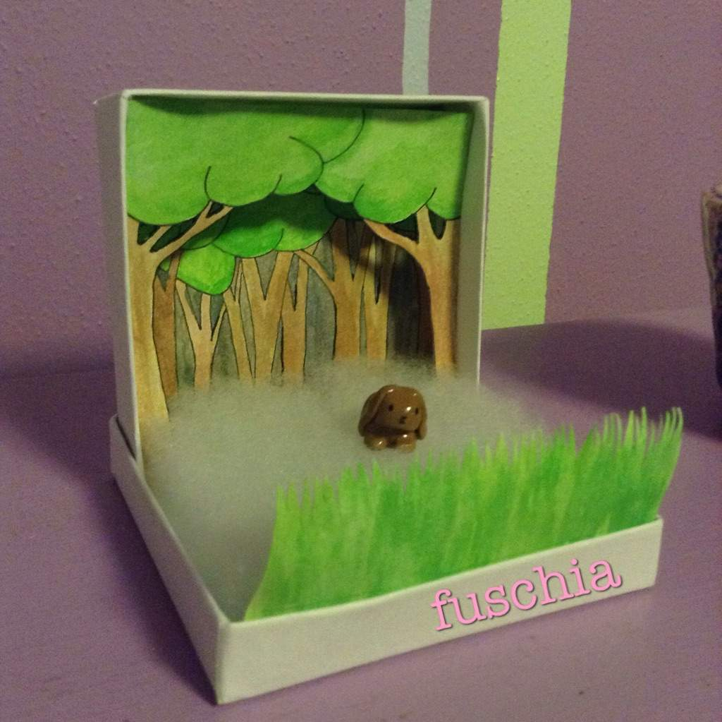 Diorama Display for clay charms | Crafty Amino