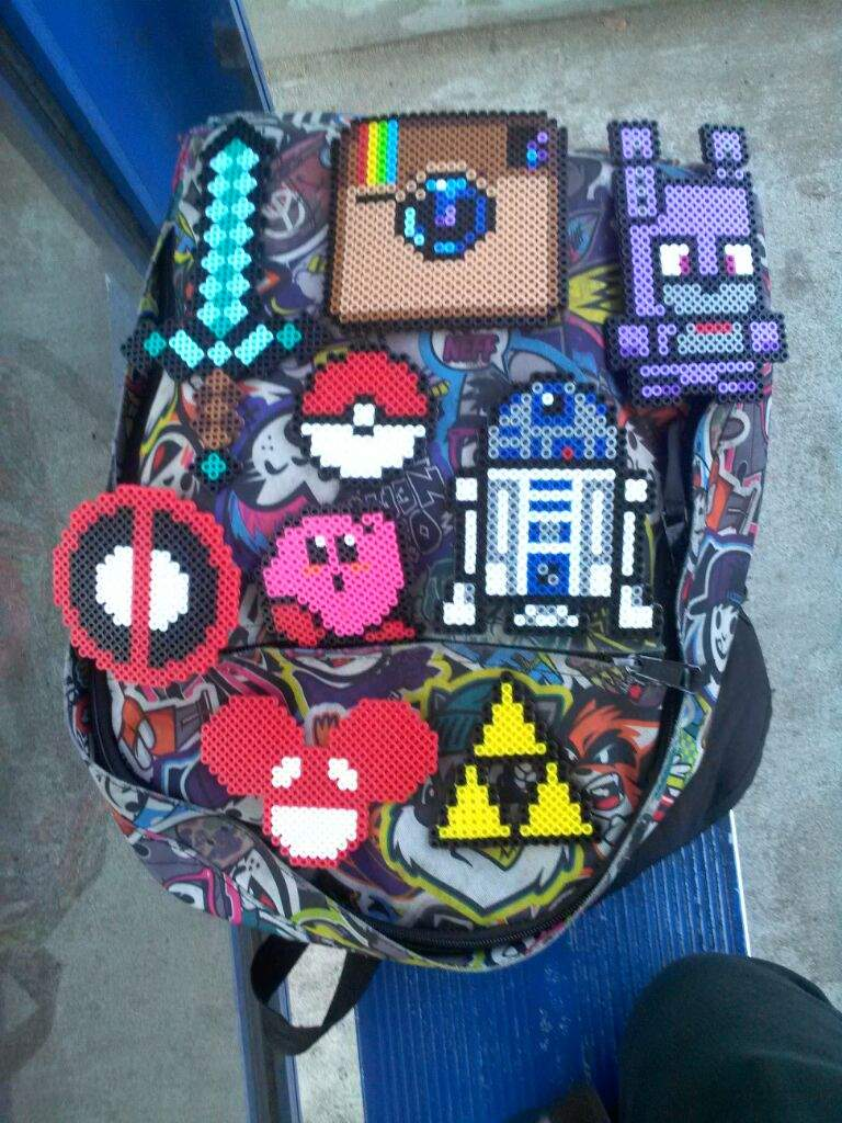 Perler bead creations anime amino