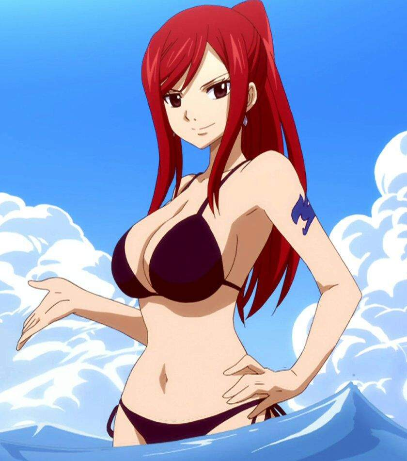 Hottest anime redhead, mother big boobs nude