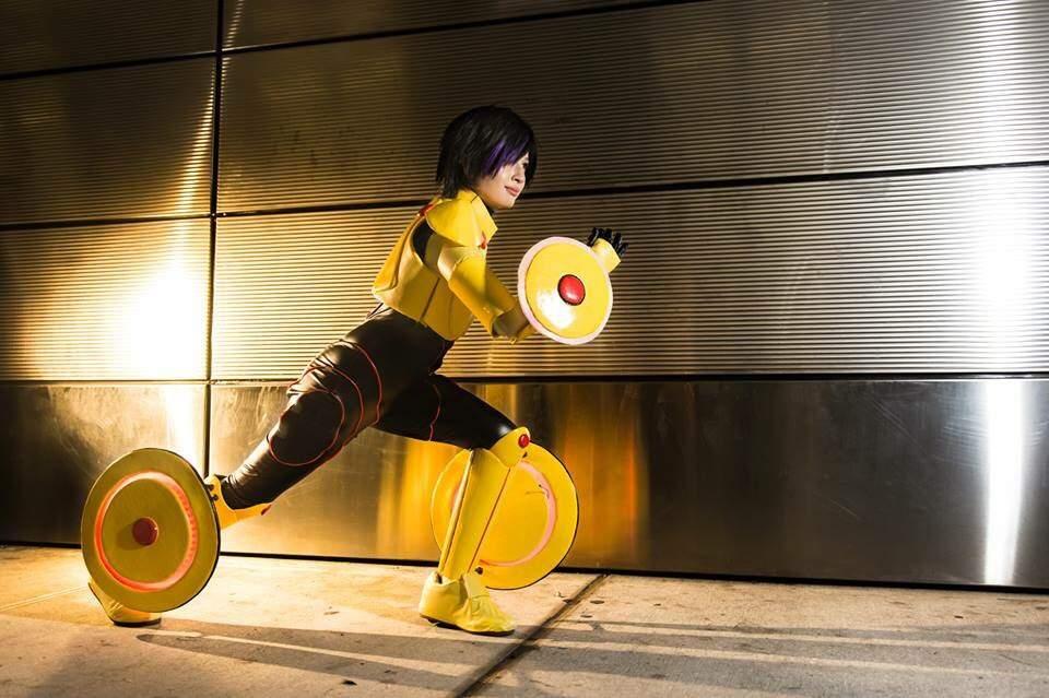 Go Go Tomago Big Hero 6 Nycc 2015 Cosplay Amino