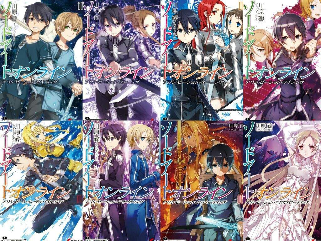 Sao Rath sao alicization light novel review | anime amino
