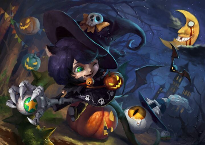Halloween Skin Concept👻 | League Of Legends -- Official Amino
