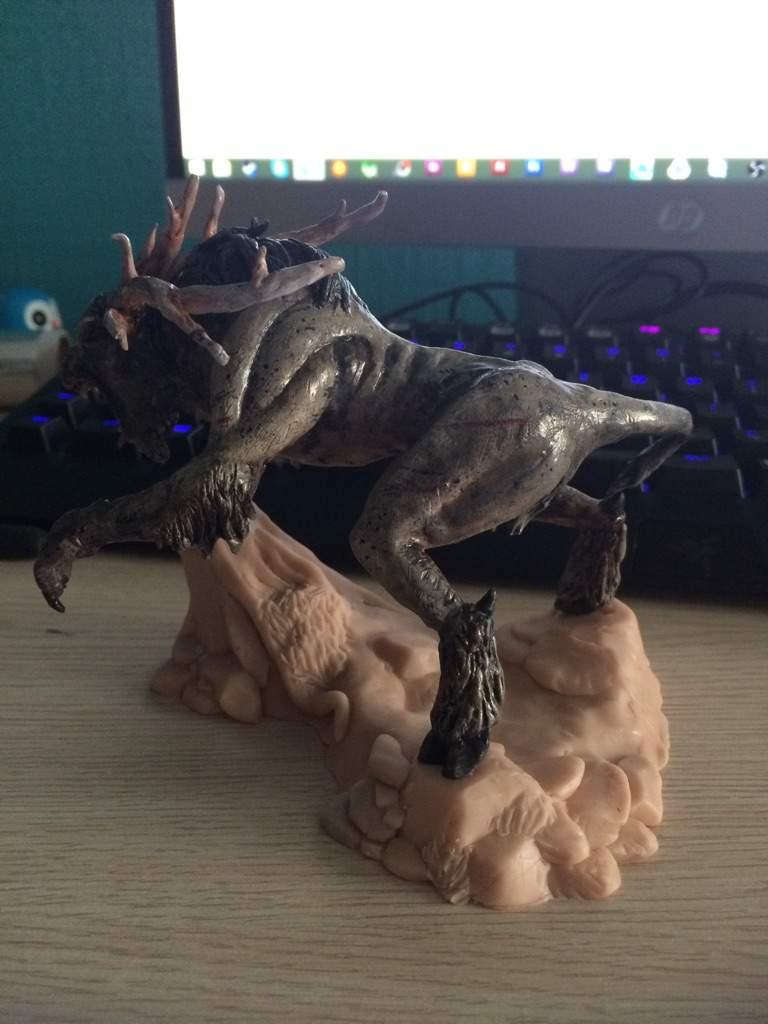 The Witcher 3 - FIEND - figure WIP | Crafty Amino