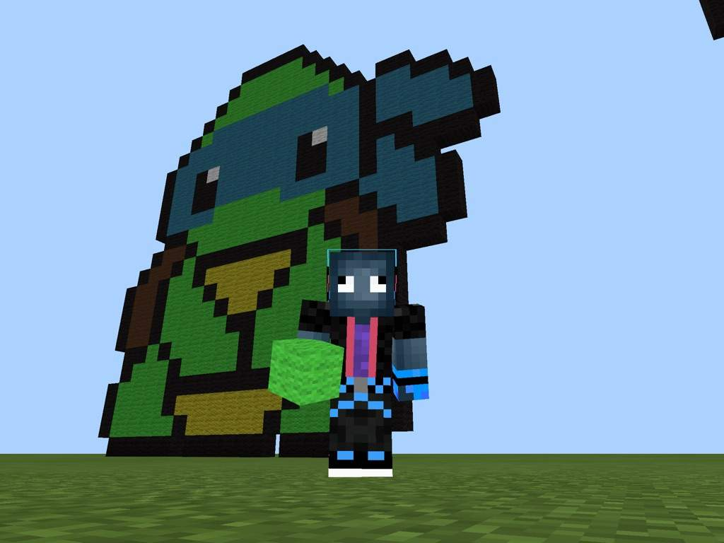 Teenage Mutant Ninja Turtles Leo The Turtle Pixel Art Tutorial