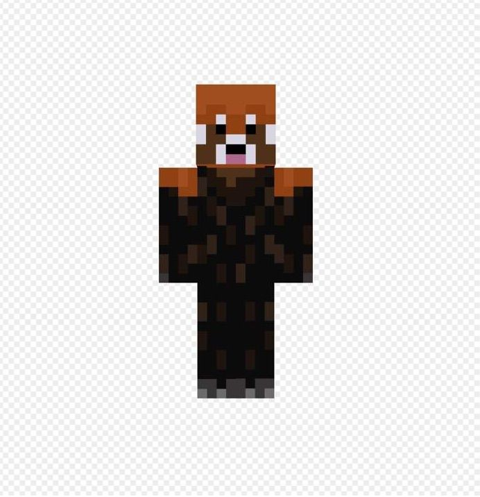 Should I Change To A Red Panda Skin Minecraft Amino - Skins para minecraft pe red