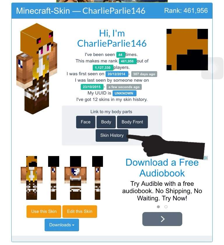 how to get minecraft skins for free on pc
