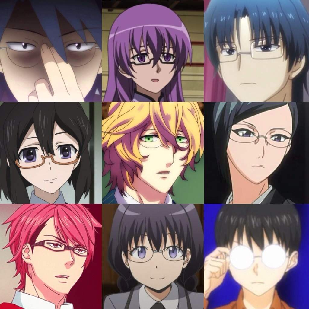 Anime Characters With Glasses : Anime characters with glasses amino
