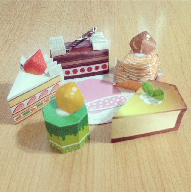 Cake Origami Crafty Amino
