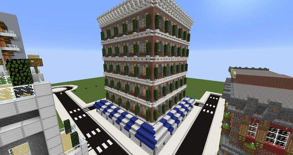 modern minecraft builds
