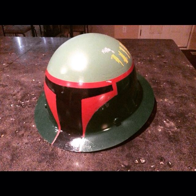 Boba Fett Hard Hat | Star Wars Amino