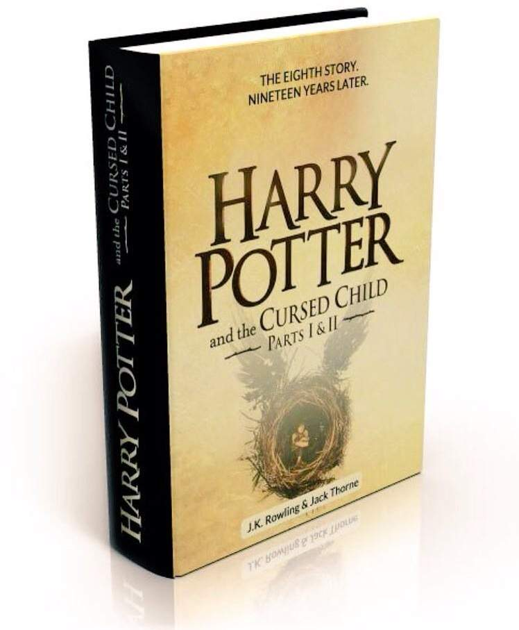Image result for harry potter and the cursed child cover