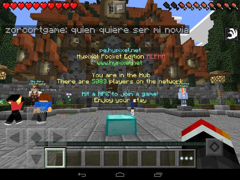 how to get into hypixel on minecraft pc severr