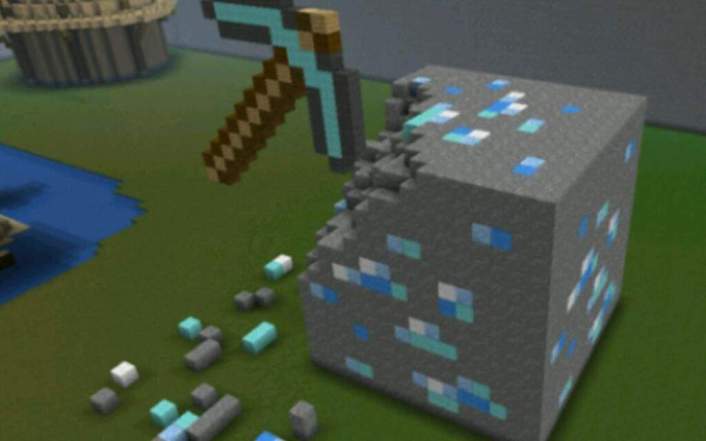 how to make diamond ore