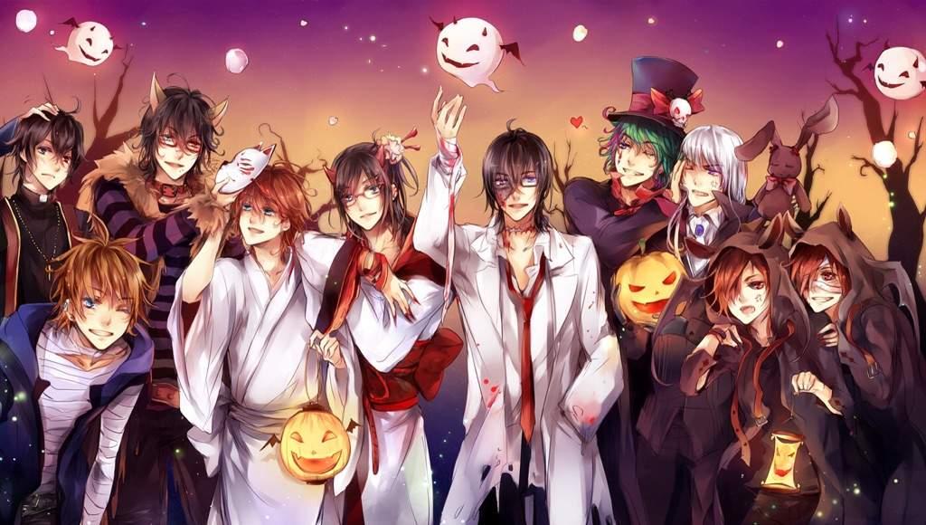 Sexy girls and guys happy halloween | Anime Amino