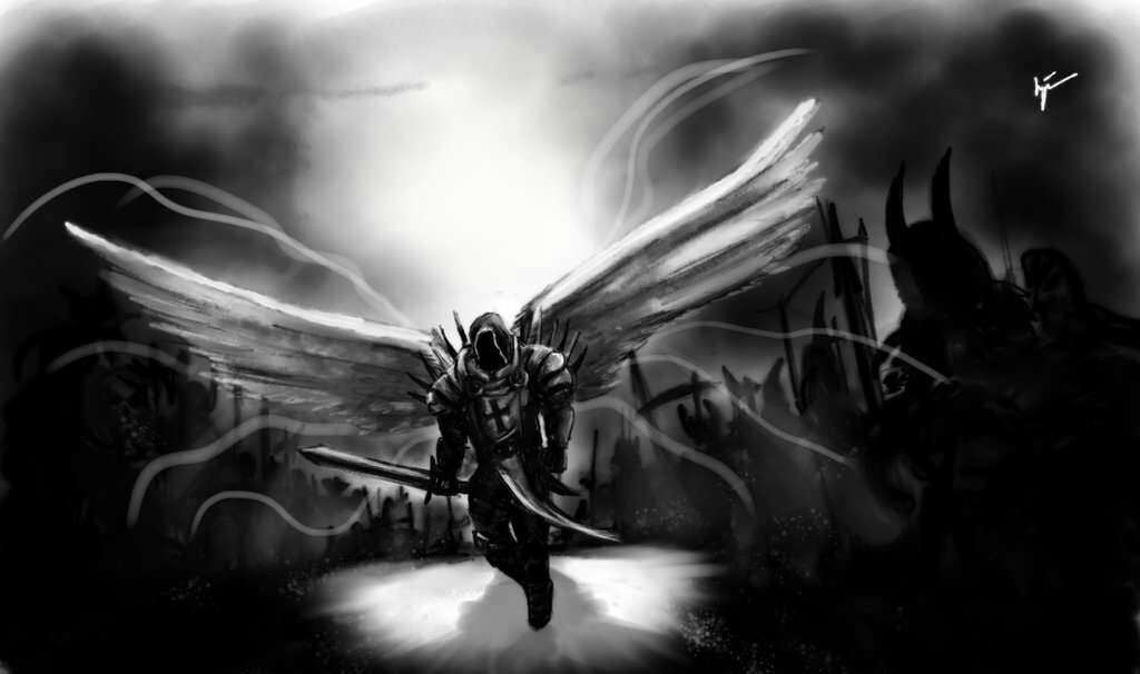 angels and demons essay 3 This monograph is adapted from an essay that was written as part of the  with demons this illustration is  the popular fancies about angels and demons,.
