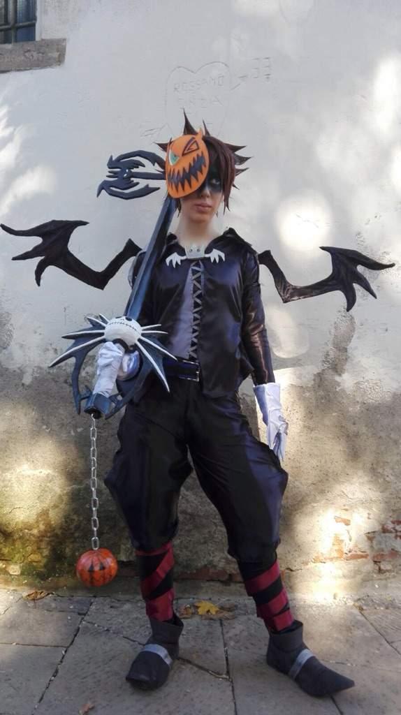 Sora Nightmare Before Christmas Costume.Halloweentown Sora Preview Cosplay Amino