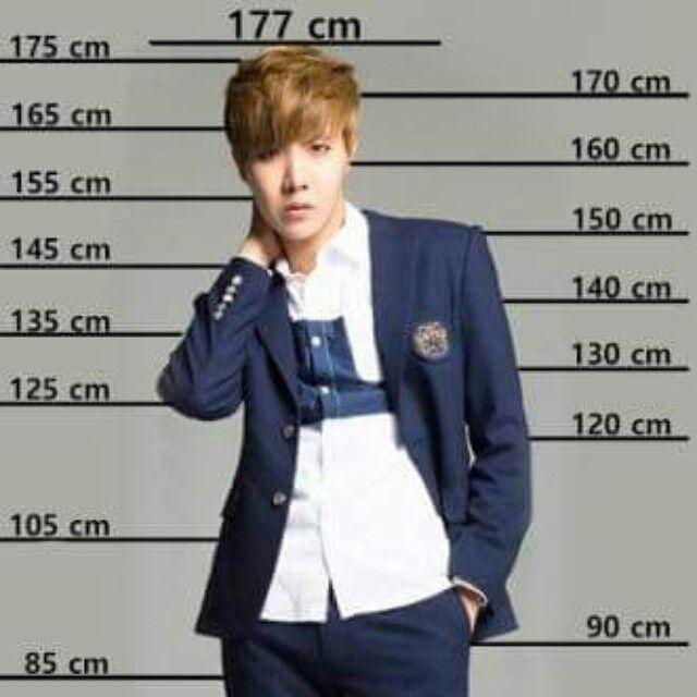 BTSs height 2 | K-Pop Amino