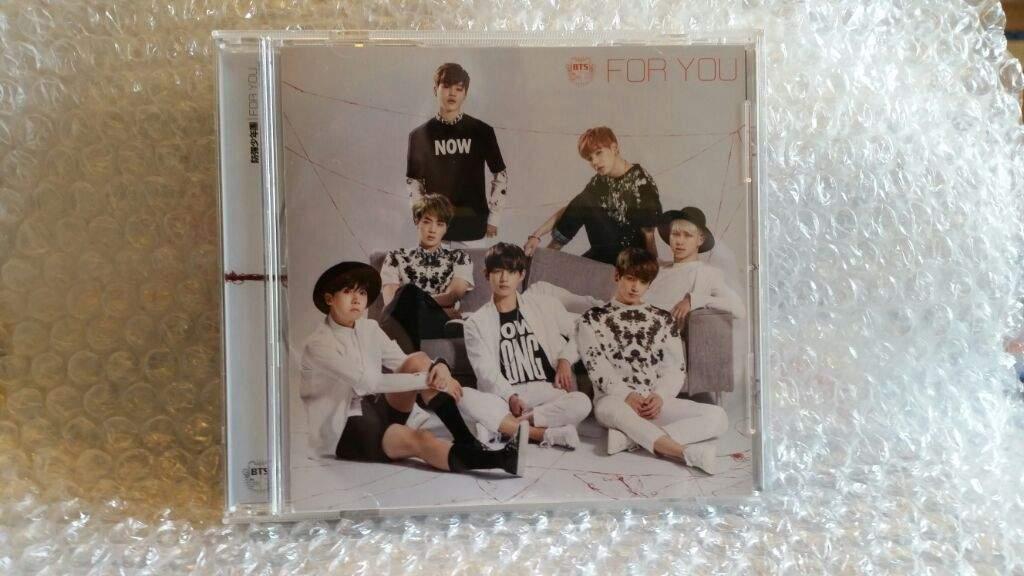 BTS For You Japanese Album Unboxing   K-Pop Amino