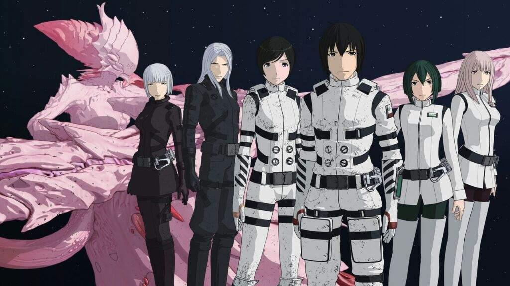 Kết quả hình ảnh cho Sidonia no Kishi anime