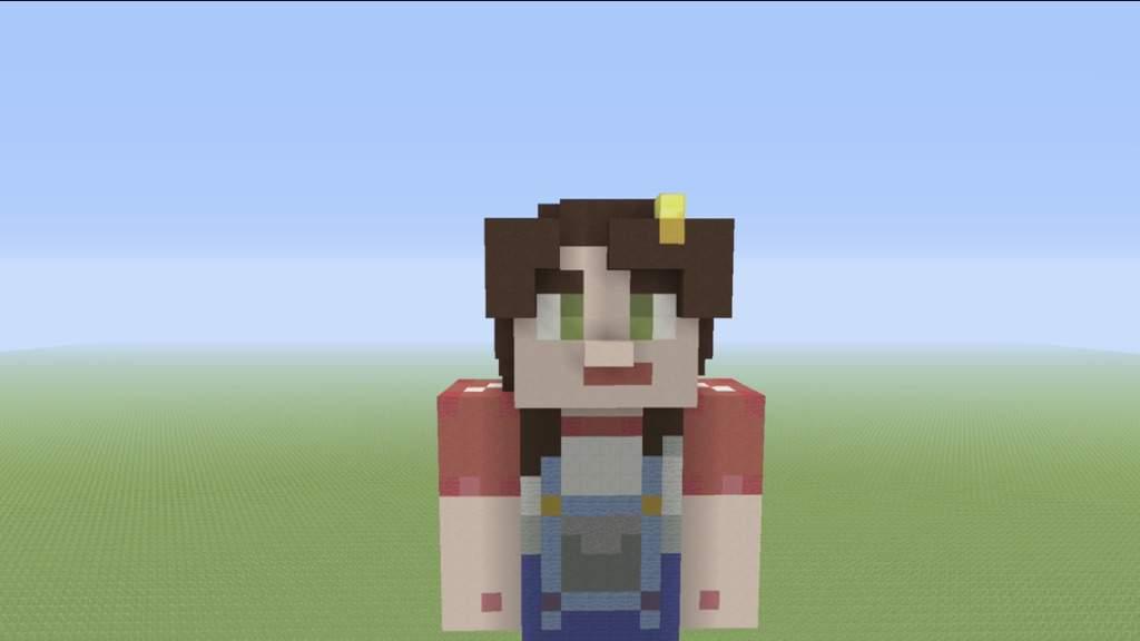 Female Jesse Statue Minecraft Story Mode Minecraft Amino