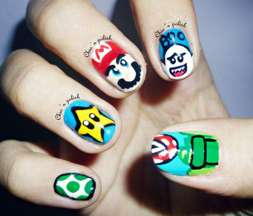 - Nerdy Nails (2014) Nail Art Amino