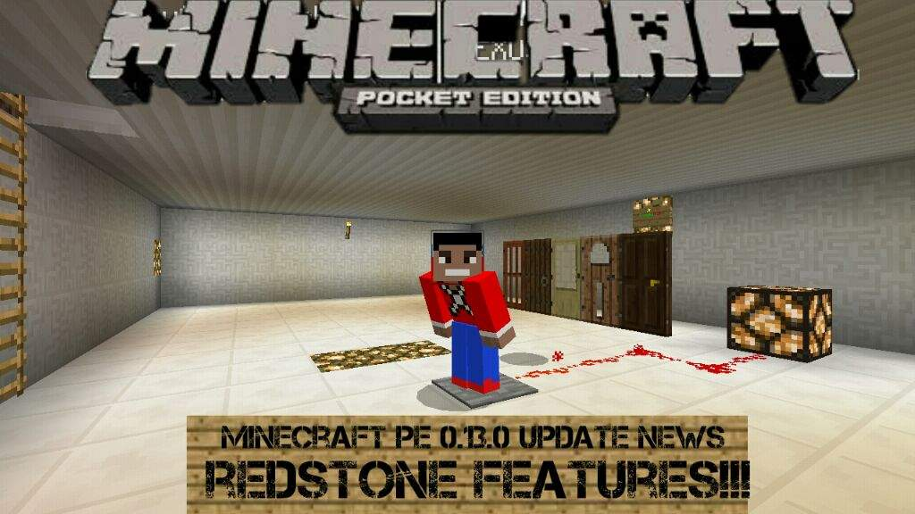 minecraft pe 0.13.0 update