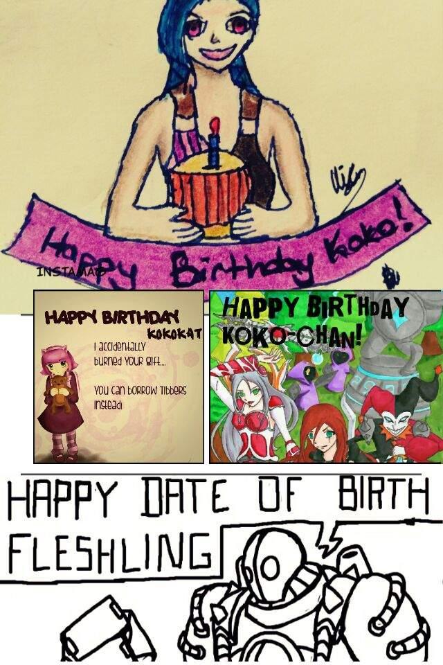 Happy Birthday Kokokat League Of Legends Official Amino