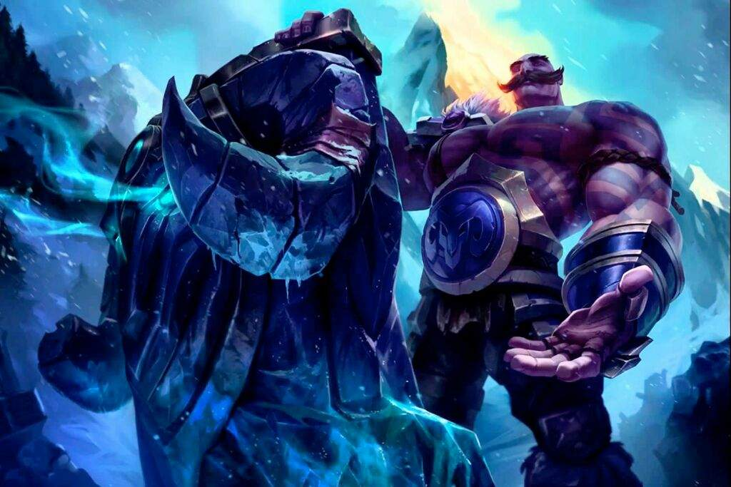 illaoi and braum league of legends official amino