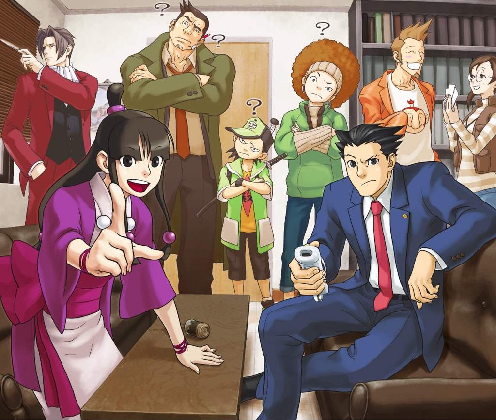 There are speculations that the anime will only follow the first three games of ace attorney also known as phoenix wright ace attorney trilogy