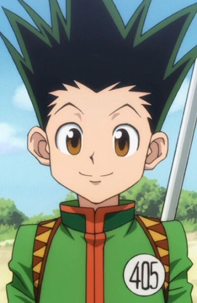 Green Spiky Hair Anime Character The Best Drop Fade Hairstyles