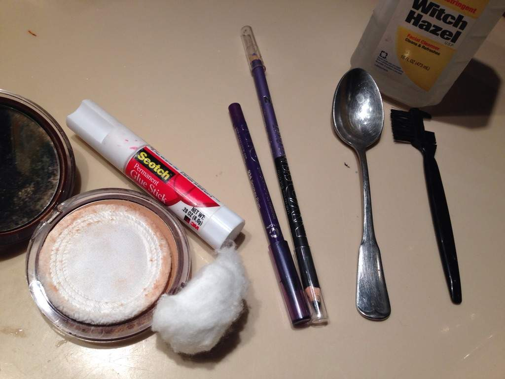 Unless it's character accurate, it's time to cover those puppies up! Here is the method I learned from a not-so-lazy drag queen on YouTube.