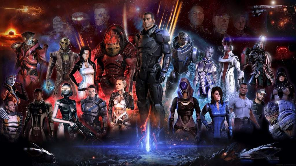 Mass Effect Paragon Lost Anime Amino
