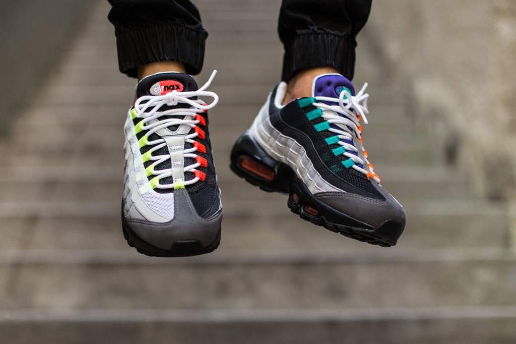 """cheap for discount 03dab 75c64 ... Air Max 95 """"Greedy"""" ... something about these I like maybe I ll just  grab both!"""