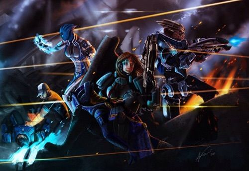 Mass Effect Paragon Lost Anime Amino
