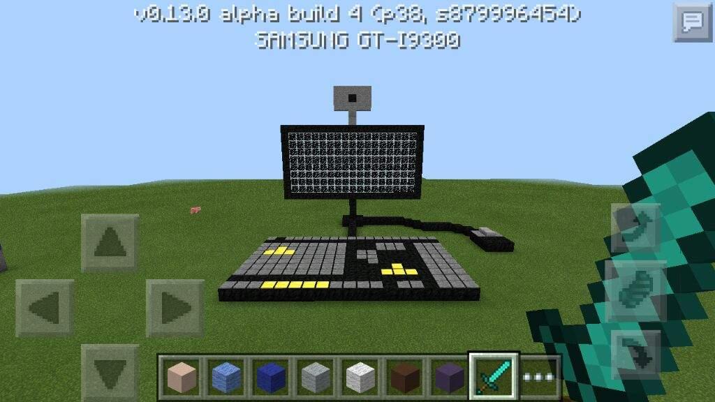 как играть в майнкрафт на андроид с клавиатурой #9