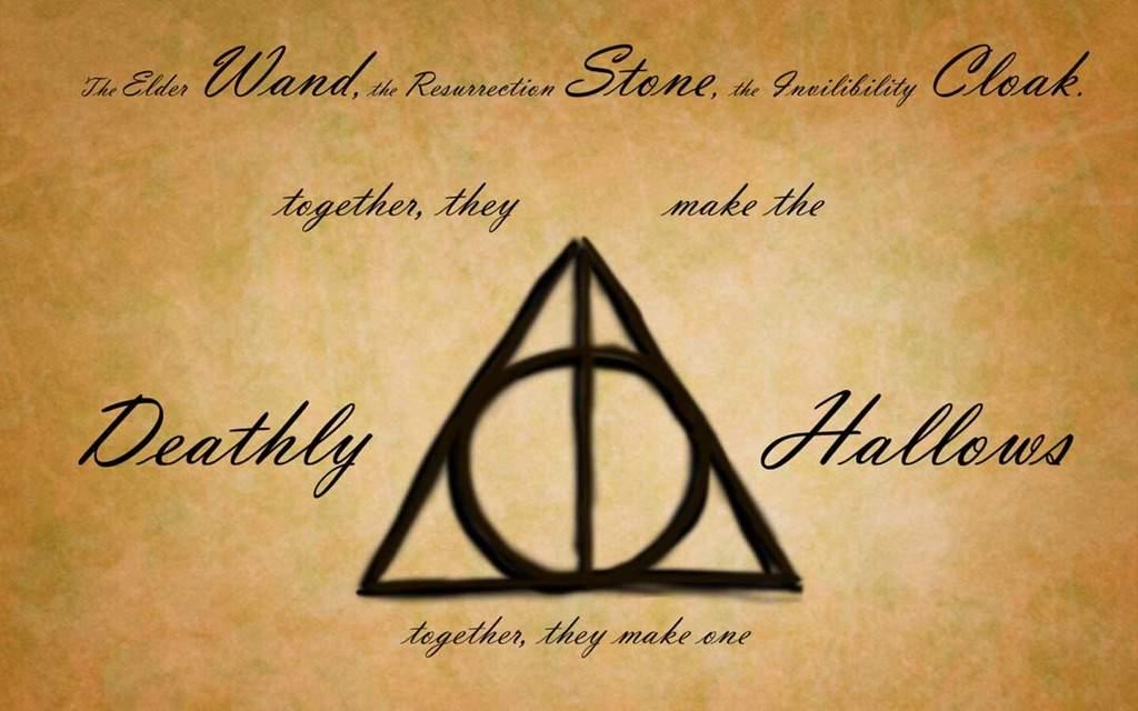 Deathly Hallows Not Illuminati Harry Potter Amino