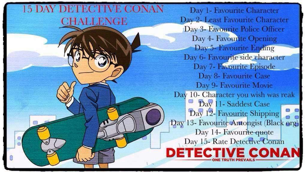 Detective Conan 15 Day Challenge Day 14 Fave Quote Anime Amino