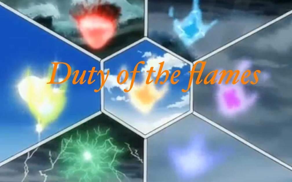 Duty Of The Seven Sky Flames Anime Amino