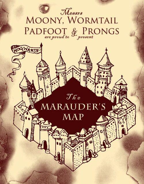 My Marauders Map   Harry Potter Amino