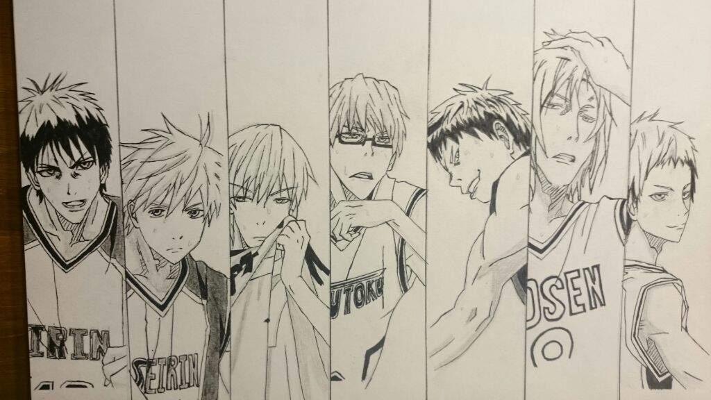 Баскетбол куроко картинки для срисовки