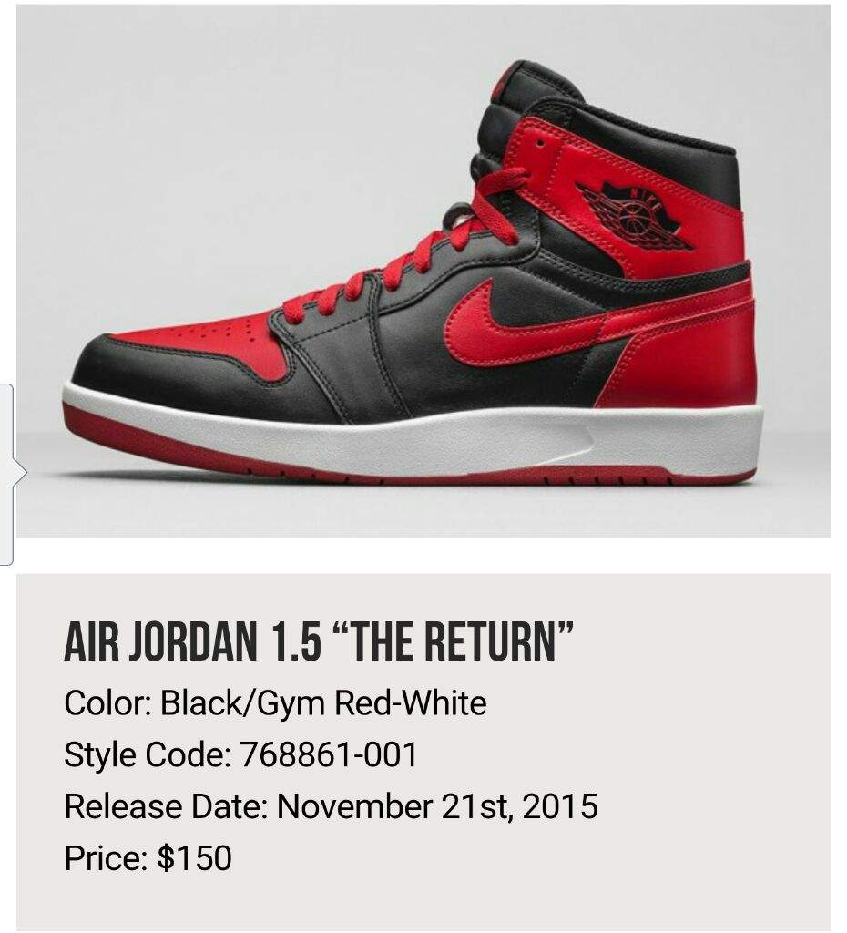 c3c4f6c38c0c16 Which brings us right to the Jordan 1.5 BRED colorway. I am not sure about  anywhere else