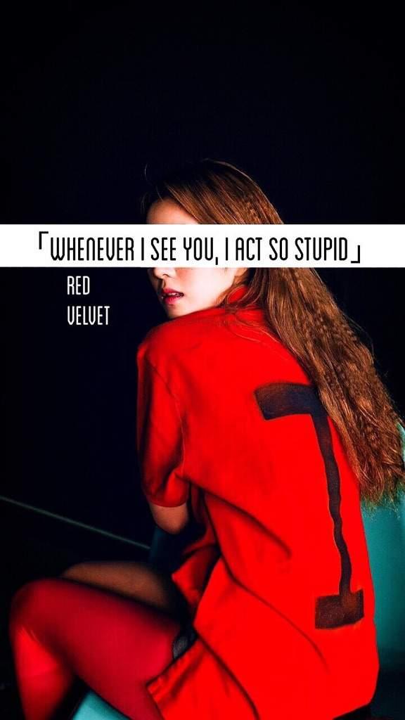 Red Velvet Dumb Dumb Wallpapers K Pop Amino
